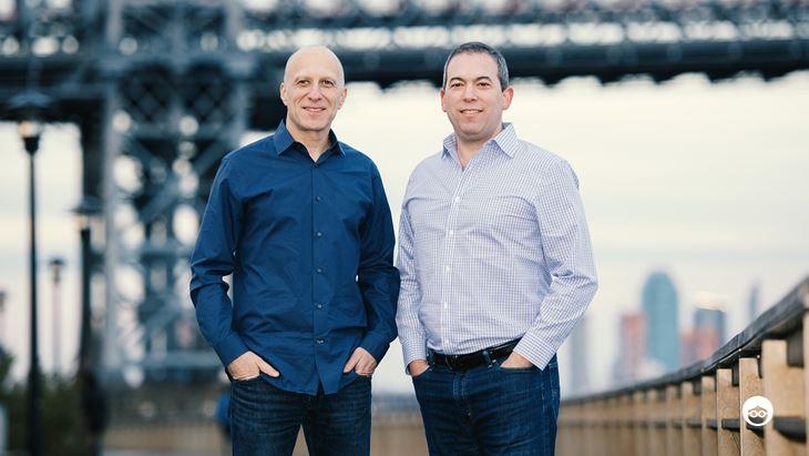Da sinistra, David Kostman e Yaron Galai