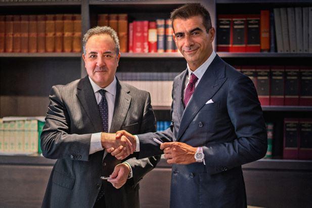 Pedro Garcia e Fabrizio Cocco