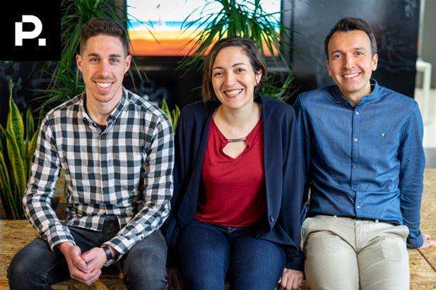 Fabrizio Coco, Art director, Carla Romero, Project manager, e Matteo Cordini, COO e Co-founder di Playground