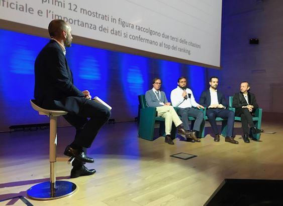 Simone Freddi, Giacomo Fusina, Enrico Quaroni, Davide Fiorentini e Massimo Pattano