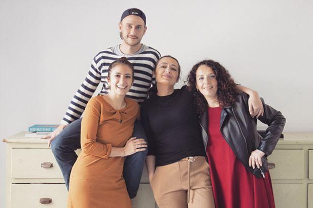 Marianna Ghirlanda, Stefania Siani, Valentina Amenta e Angelo Ratti