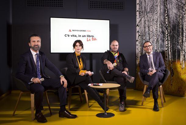Da sinistra: Riganti, Andreoli, Mr. Savethewall e Pedrazzini