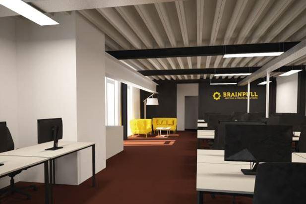 Un'immagine dei nuovi uffici di Brainpull