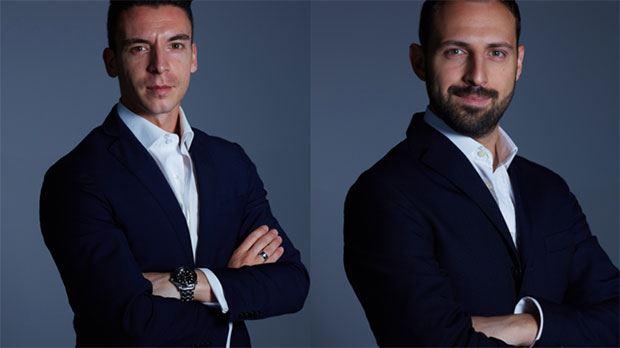 Da sinistra, Simone Sicuro e Andrea De Marni