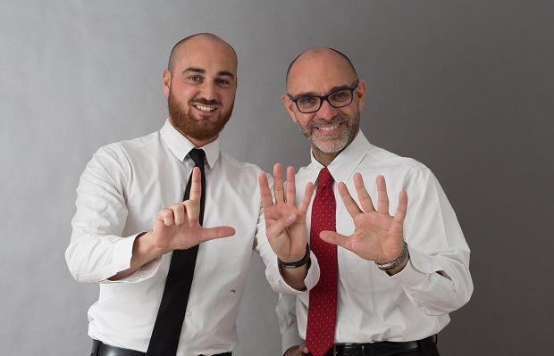 Simone Guzzardi e Luca Villani
