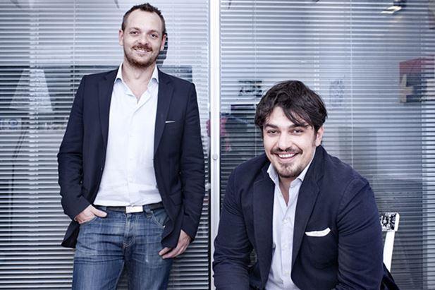 Da sin: Massimo Romano e Giorgio Giordani