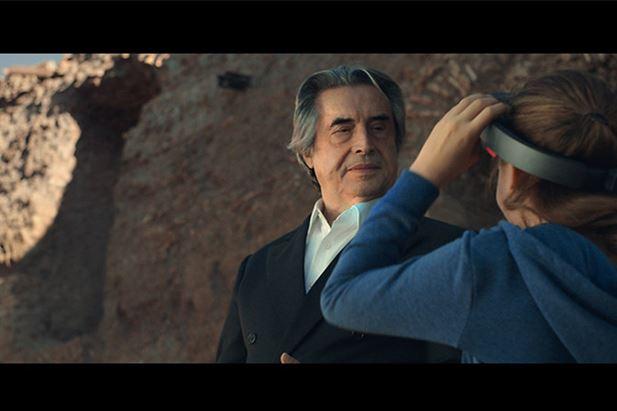 Riccardo Muti nello spot Tim