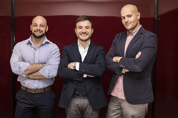 Valerio Italia, Enrico Porreca e Andrea Cecchetti