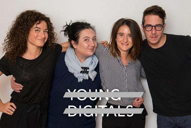 Da sinistra: Silvia Tormen, Anna Zuanetti, Marta Infantino e Tommaso Bonfadelli