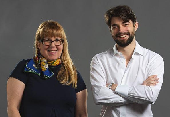 Ellen Zaleski e Thomas Minc