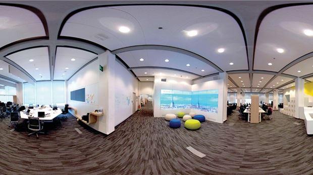 La sede di Accenture a Torino