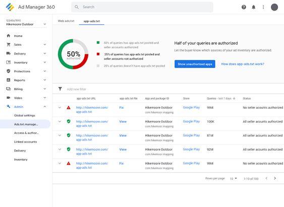 App-ads.txt su Google Ad Manager