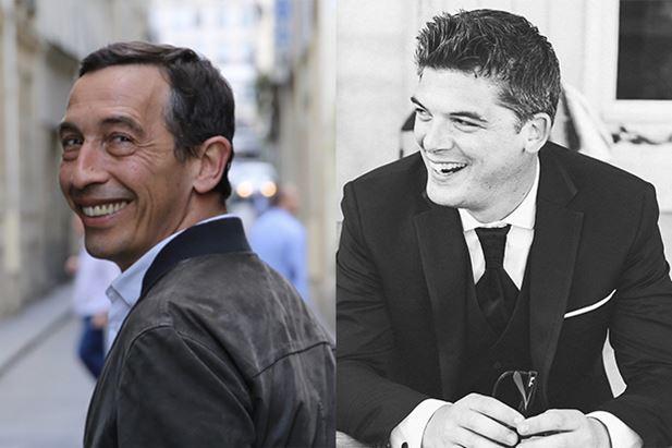 Da sinistra, Bertrand Humblot e Kilian De Menibus