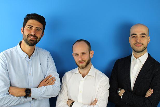 Da sinistra, Francesco Taurino, Francesco Prete e Valerio Mensitieri