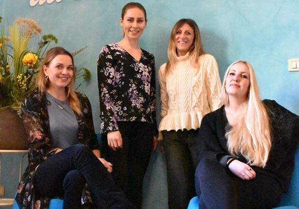 Il team di Ad Mirabilia per Visit Finland