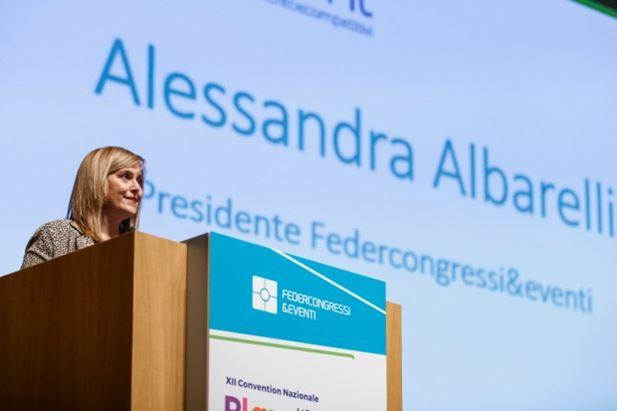 Alessandra Albarelli, presidente Federcongressi&eventi