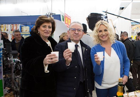 Anna Campanile, Patrizio Podini e Antonella Clerici