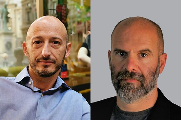 Da sinistra: Nicola Antonelli e Riccardo Verdoia