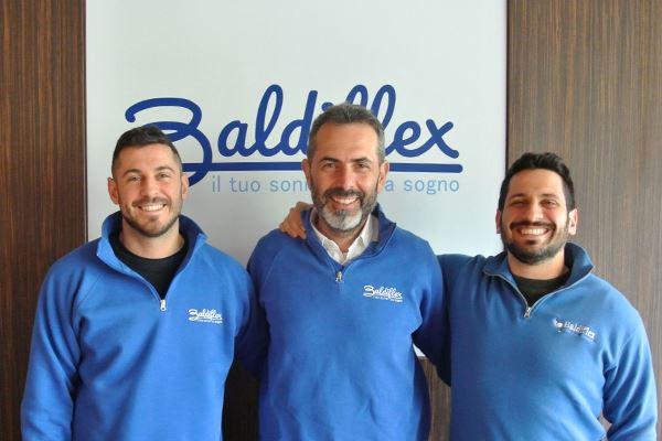 Da sin: Andrea Baldi, Ilario Dellanoce, Francesco Baldi