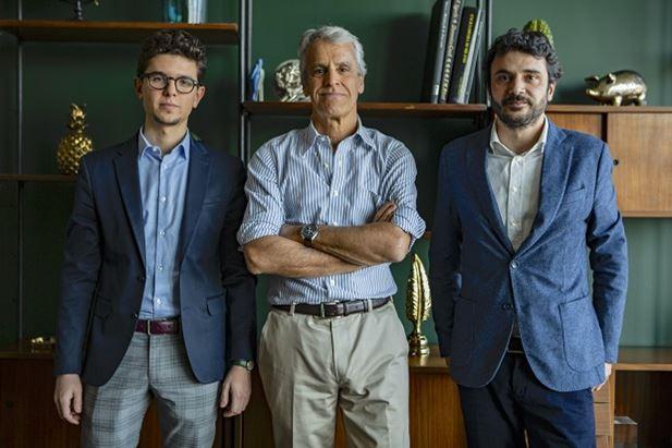 Matteo Meneghetti, Alberto De Martini e Francesco Nenna