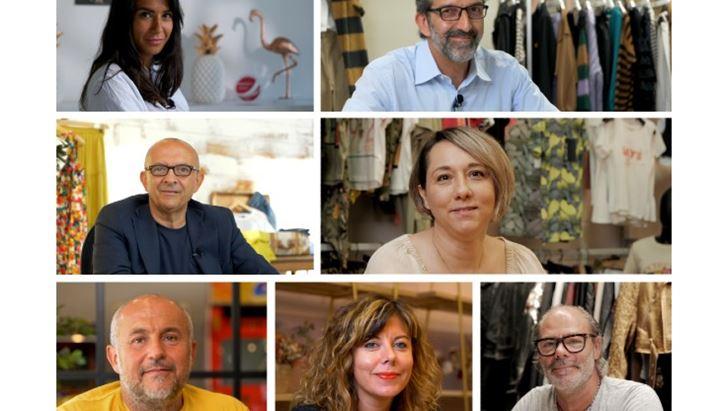 I volti degli imprenditori coinvolti nella campagna Centergross