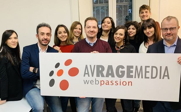 Daniele Paganini, Ceo, e il team Avrage Media