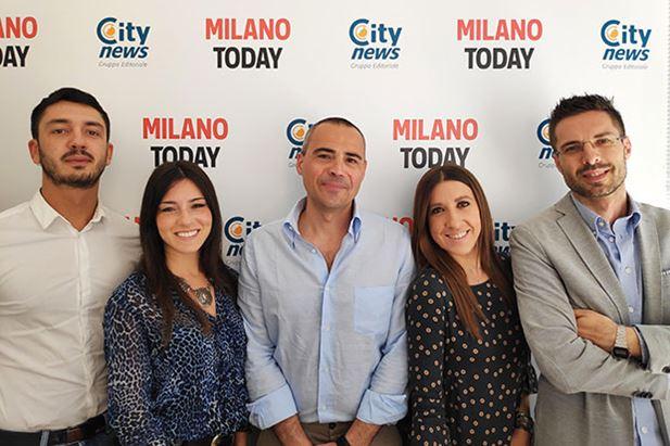 Da sin: Fabio Priano Leotta, Martina Bonini, Marco Calvi, Silvia Arena, Eugenio Ferraro