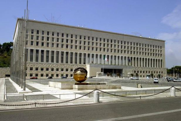 Il Palazzo della Farnesina