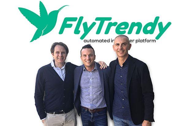 Da sinistra: Stefano Vendramini, Adriano Di Giulio e Olimpio Canzano, founder di FlyTrendy