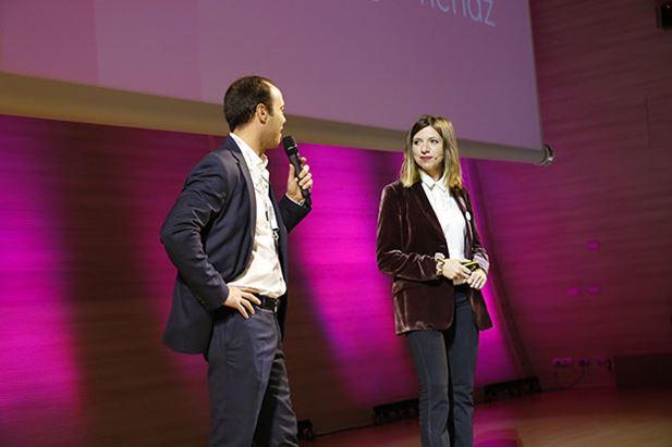 Elia Blei e Cecilia Nostro