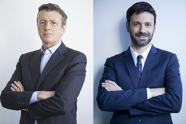Pierfrancesco Gherardi e Massimo Bruno