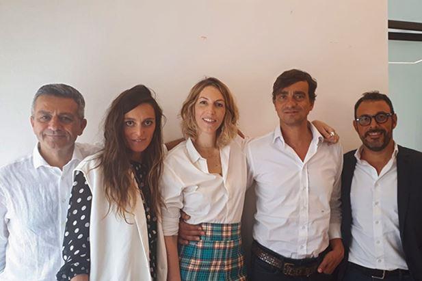 Shain Javidi, Giorgia Tosato, Alessia Cicuto, Stefano Capraro e Alessandro Pedrazzini