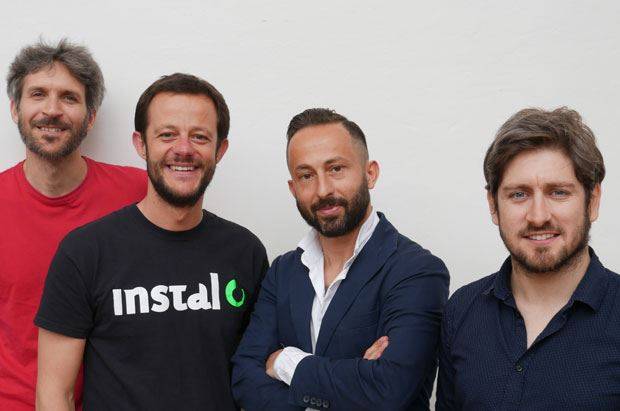 Saverio Mucci, Filippo Satolli, Massimo Ciuffreda e Michele Di Mauro