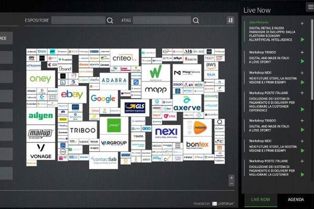 Un dettaglio dell'ambiente virtuale