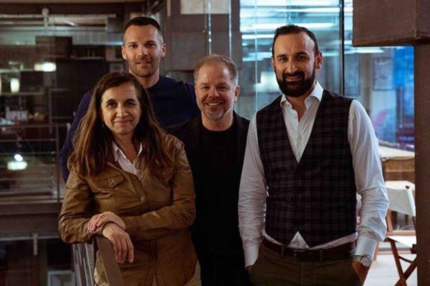 Marina Salamon, Andrea Redaelli, Paolo D'Ammassa e Massimiliano Trisolino