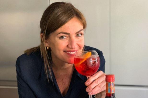 Chiara Maci partecipa alla campagna Martini