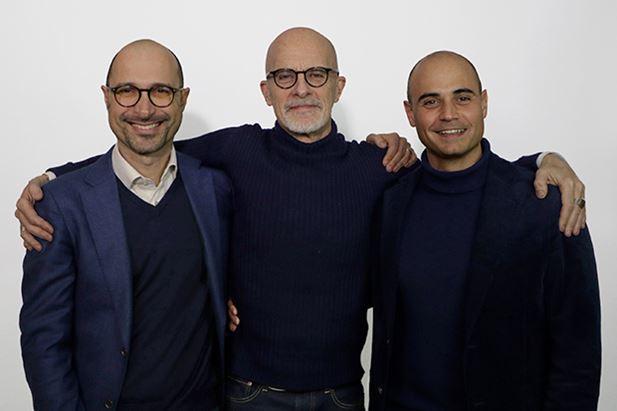 Simone Molteni, Guerino Delfino ed Enea Roveda