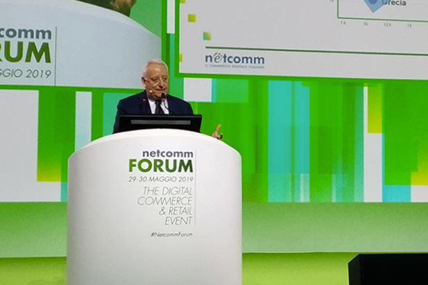 Roberto Liscia a Netcomm Forum 2019
