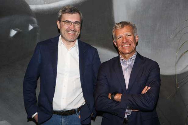Andrea Santagata e Carlo Mandelli