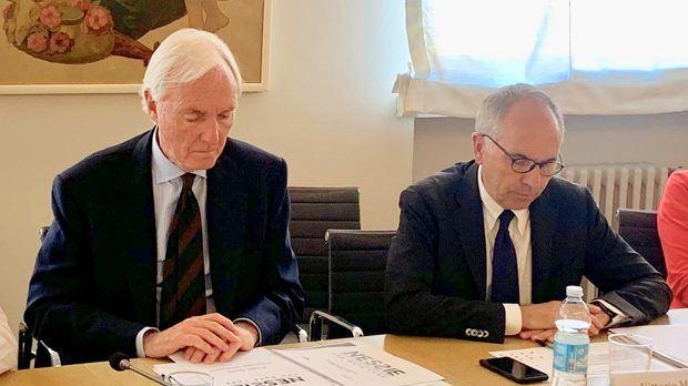 Lorenzo Sassoli de Bianchi e Vittorio Meloni, direttore generale di Upa