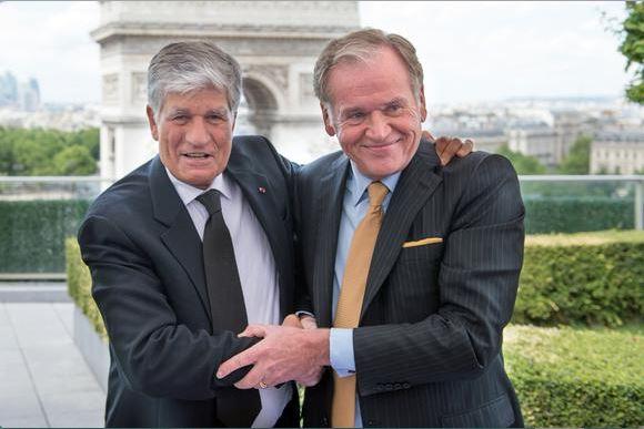 Maurice Lévy e John Wren