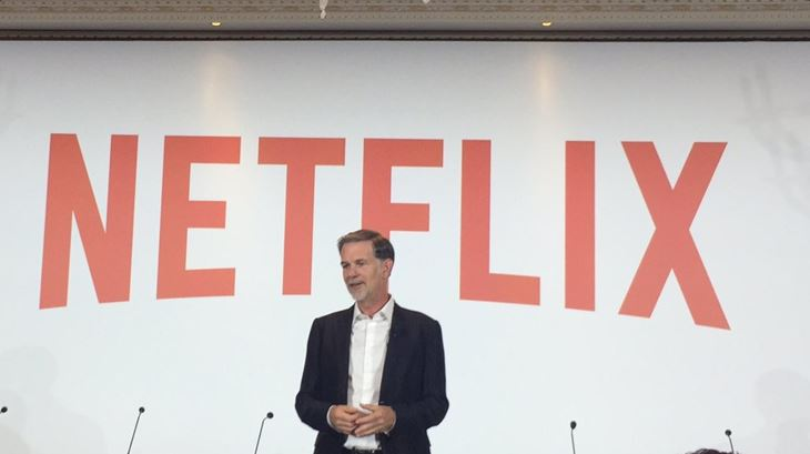 Reed Hastings, il Ceo di Netflix