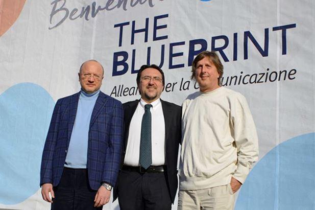 Enzo Boccia, Saverio Addante e Franco Pomilio