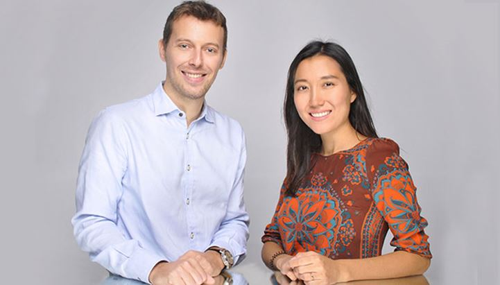 I Co-founder di Witailer, Federico Salina e Jana Nurmukhanova