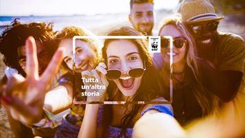 Un'immagine della nuova campagna Diners per il lancio di Carta Club