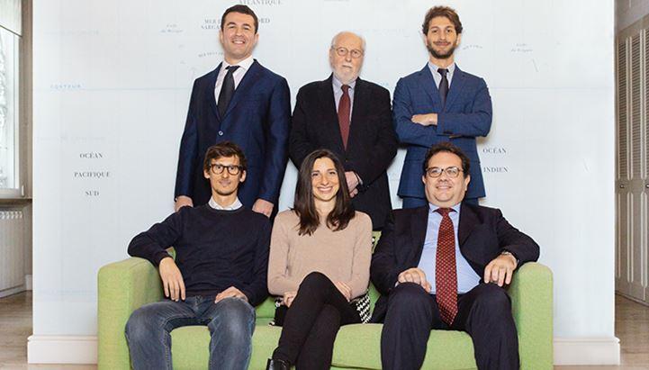 Da sinistra: Stefano Arbitrio, Pietro Casini, Nino Vanoli, Alessandra Pasquini, Fabio Arbitrio e Alessandro Arbitrio