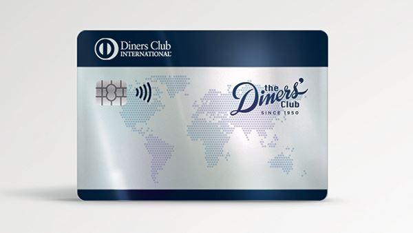 Un'immagine della nuova Carta Club di Diners