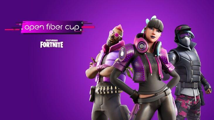 Grande partecipazione per la prima Open Fiber Cup su Fortnite