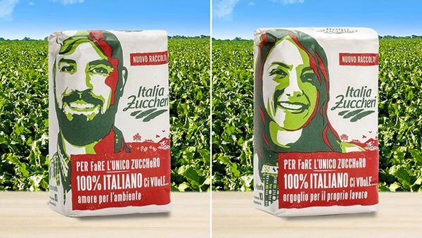 Il packaging di Italia Zuccheri
