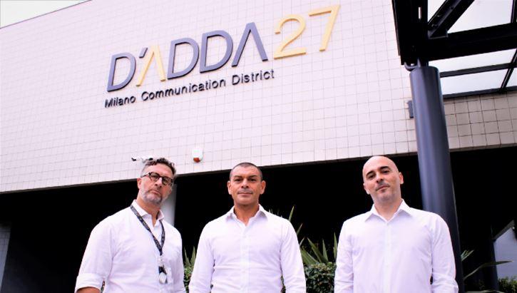 Da sinistra: Paolo Pedroni, AD di DN Agency; Paolo Sordelli, Amministratore di Sales Cafe e Alberto Mengora, Direttore Generale di DN Agency